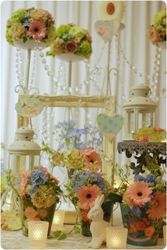 Real Weddings*candle decor