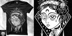 """Concubine"" t-shirt design by firr"