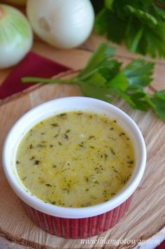 Uwielbiam gotować: Zupa cebulowo-serowa