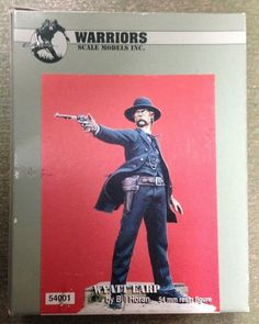 Warriors Scale Models Inc. Wyatt Earp 54001 54mm Resin Model Figure Kit