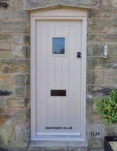 Oak Cottage Doors Framed Ledged Oak or Painted Hardwood Cottage Front Doors, Oak Front Door, Front Door Porch, Cottage Door, Elephants Breath Paint, Door Furniture, Kitchen Doors, Painting Frames, Tall Cabinet Storage