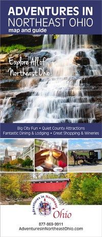 The Northeast Ohio Adventures Map is a great tool when planning a trip into Northeast Ohio aka Ohio's Western Reserve.