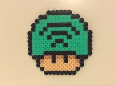 perler bead mushroom Spotify - by Bjrnbr