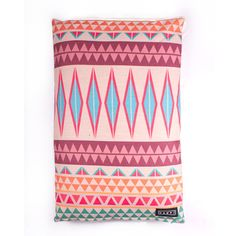 AZTEC LOVE – Yenti Design Co. Dog Cushions, Cushion Inserts, Pet Bottle, Dog Bed, Cotton Linen, Aztec, Screen Printing, Recycling, Love