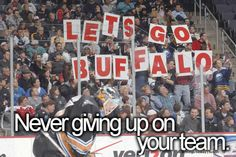 Love our Buffalo Sabres and Buffalo Bills!