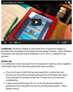 Comic Maker iPad App in Science:  http://ipaddiction.blogspot.com/2014/10/comic-maker-ipad-app-in-science.html?spref=fb&m=1