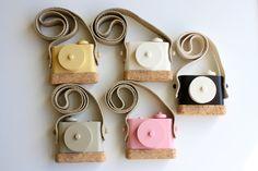 Pixie - wooden toy camera. $35.00, via Etsy.