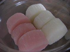すあま~市販風に 上新粉 レンチン Japanese Sweets, Japanese Food, Japanese Recipes, Sweets Recipes, Cooking Recipes, Asian Desserts, Honeydew, Cute Food, Nom Nom
