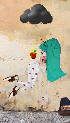 Artist: Cheko in Granada, Spain