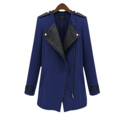 Online Shop 2014 Women together zipper slender Long Coat /Women Trench Coat Women Overcoat Ms. Trench Coats Women Long, Long Trench Coat, Coats For Women, Jackets For Women, Clothes For Women, Ladies Coats, Military Jackets, Long Jackets, Langer Mantel