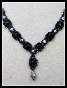Kelly from Off the Beaded Path, in Forest City, North Carolina shows you how make a beautiful necklace that goes with the past couple of weeks projects. We h...