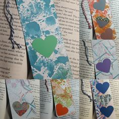 Spray Inked Bookmark Collection