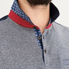 Polo manches longues homme basic - image 3
