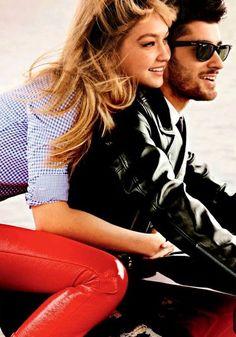 1a9ce44b21671 Gigi Hadid and Zayn Malik Show Off Their Chemistry in Vogue s New Fashion  Spread  Gigi Hadid and Zayn Malik are not shy about their relationship.