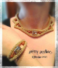 "P@tty Perline : Parure ""Sole d'Egitto"""