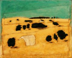 Josef Šíma - Krajina v Brie Rene Magritte, Country Farm, Online Painting, Landscape Paintings, Landscapes, Brie, Surrealism, Gallery, Joseph