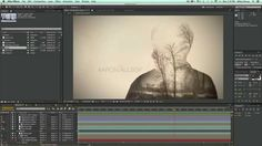 true detective titles HBO after effects tutorial ---double exposure editing
