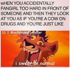 Sometimes my friends judge me ...