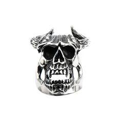 Profitez de Rabais Exceptionnels! Sélectionnez des styles dans notre boutique. Livraison gratuite Canada et USA  http://www.newstylecanada.com  Black Oxidized Skull w/ Bull Horns Ring  #jewelry #bijouxinox #montrealfashion #bijouxpourhomme #blackfriday #bijoux #montreal #inoxjewelrycanada #paniercadeau #stainlesssteel #inoxjewelry #bijoufemme #bijouterieenligne #bijouterie #boutiquebijoux