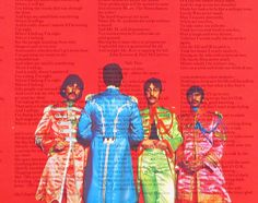 """""""Paul is Dead Case Study:  As discussed about the front cover of the Sgt. Pepper's album, Paul is again much taller than his bandmates on the back of the album, despite the fact that Paul, John, and George were all once listed as the same height of 5'11"""" by official Beatle trading cards."""""""