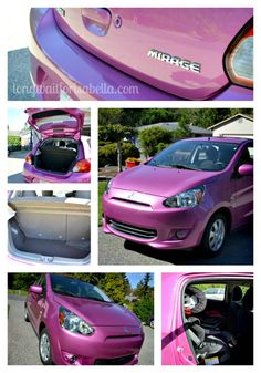 2014 Mitsubishi Mirage - oh what a fun and cute little car!