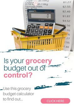 Is your grocery budget out of control? Find out how much you should budget for groceries for your family with this easy to use grocery budget calculator.Plus tips to save money on food like meal planning, how to buy the cheapest foods, using coupons and apps and more #grocerybudget #savingmoney #groceries Best Money Saving Tips, Saving Money, Money Tips, Money Hacks, Save Money On Groceries, Ways To Save Money, Groceries Budget, Frugal Living Tips, Frugal Tips