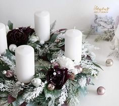 Luxusní rustikální adventní věnec Pillar Candles, Table Decorations, Home Decor, Decoration Home, Room Decor, Home Interior Design, Candles, Dinner Table Decorations, Home Decoration