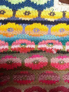 Ravelry: Persian Poppy Waistcoat pattern by Kaffe Fassett