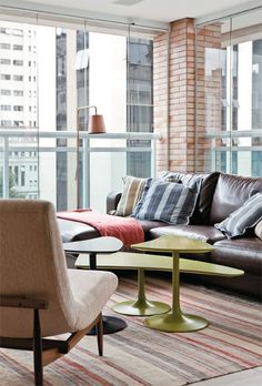 Apartamento Itaim 1 / Fernando Piva #varanda #varandagourmet