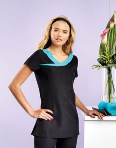 Soothing salon style with the PR691 'Ivy' Beauty and Spa Tunic