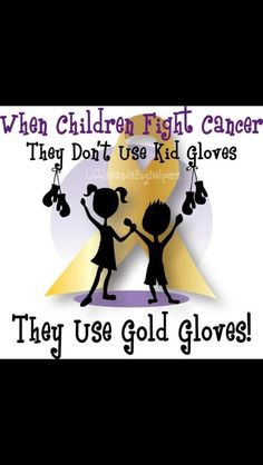 Support Childhood cancer.