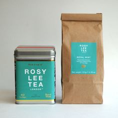 Rosy Lee Tea Bags Tin & Refill