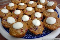 http://www.farmfreshfeasts.com/2013/10/mini-cranberry-yogurt-oatmeal-muffins.html