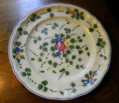 Vintage French Hand Painted Longchamp China by GinasTreasureTrove, $74.75