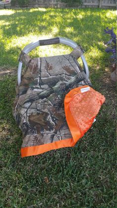 Realtree Carseat Canopy Camo Carseat Tent Camoflauge by ShaysStore