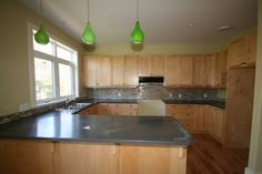 We love how this kitchen backsplash turned out. From our Willow Ridge development.