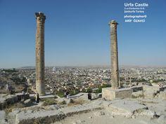 Urfa Castle, 2.nd centuries A.D. Şanliurfa, Turkey.