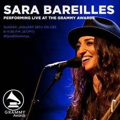 Sara Bareilles #SaraBGrammys