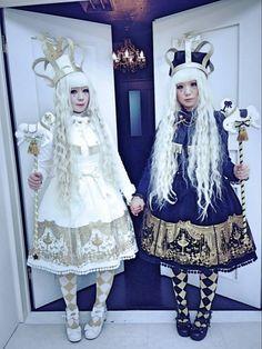 [ • Takulu & Sae - Angelic Pretty - twinning lolitas • ]