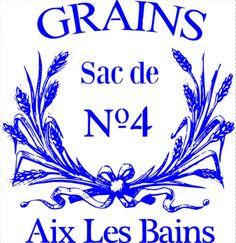 French Stencil - French Grain Sack Stencil - 7.5 mil mylar 12x12.5 on Etsy, $24.00