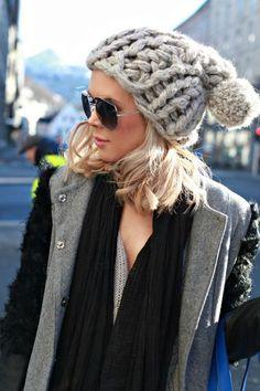 Winter hat | street style #fashion