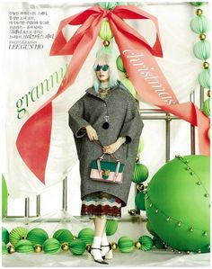 Lee Jung Moon, Sera Park, Ahn Ah Reum, Lee Ji by Lee Gun Ho for Vogue Korea Dec 2015