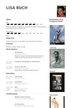 Art Teacher Resume Sample  Employment  Resume Sample resume Teaching resume