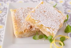 A sweet, lemony filling over a delicate buttery crust. A perfect dessert for spring or summer. Learn the secret to making the best lemon bars every time!