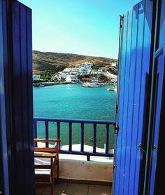 island of Kythnos (Κύθνος) Window to summer ☀️