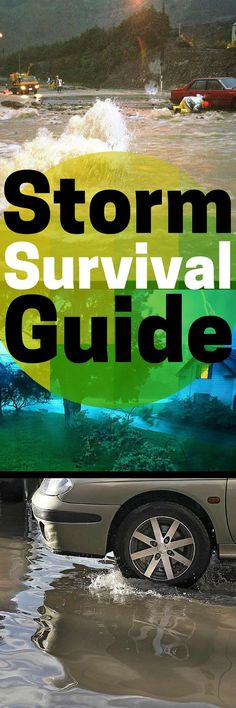 Storm Survival Guide - 25 Tips for Protecting your Family