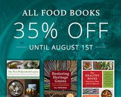 Here at Chelsea Green Publishing, we believe that it matters where our food comes from and how it is grown because a healthy food system is key to ensuring a resilient, sustainable, and healthy future for all of us. We've put ALL ourfood & drink books on sale for 35% off — but hurry it …