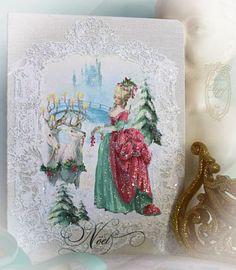 Marie Antoinette The Royale Christmas Gift from Paulette at PaperNosh.com