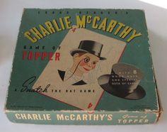 Charlie Mccarthy, Mc Carthy, Card Games, Vintage Antiques, Bergen, Puppet, Hats, Minimal, Ebay