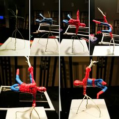 Spiderman fondant tutorial